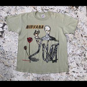 🖤🖤 Vintage 90s DEADSTOCK Nirvana band tee